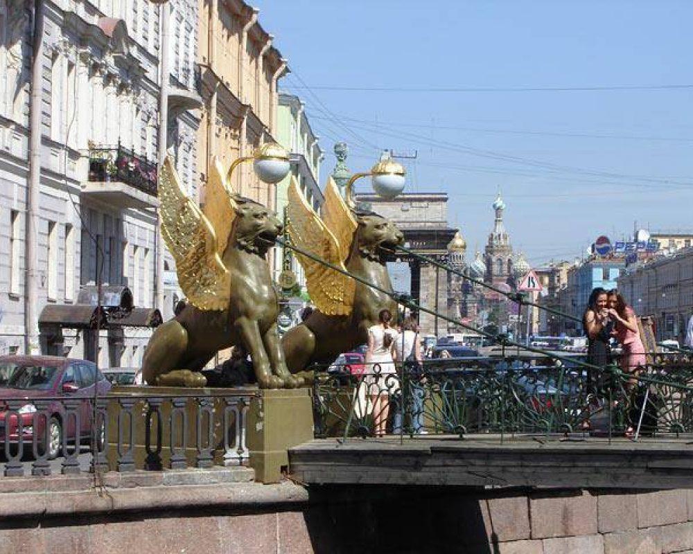 St Petersburg Grifon Bridge